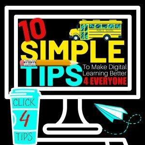 10 TIPS FOR DIGITAL LEARNING